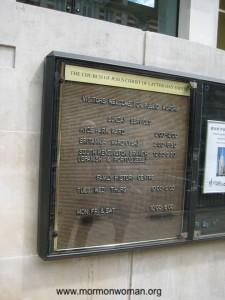 Mormons in London
