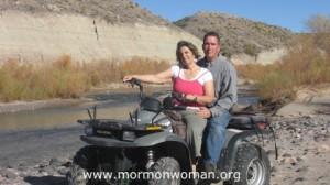 Mormon Woman Juli; A Returned Missionary