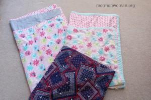 Mormon grandma makes quilts for her grandchildren