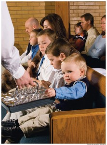 Mormon Sunday sacrament meetings