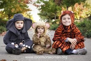 Mormon Halloween Kids 4