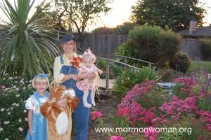 Mormon Halloween Family
