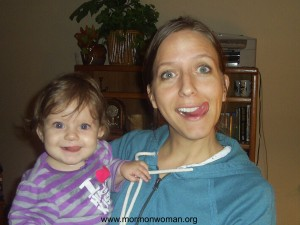 Mormon Mother and Child