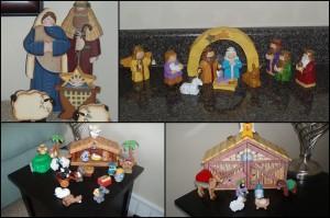 Mormon nativity collection