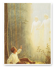LDS Artwork: First vision
