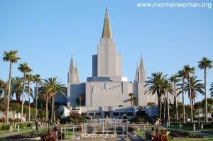 Mormon Temple in Oakland, CA