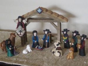 amish nativity, mormon nativity collection