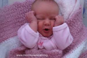Mormon Women: Baby Girl