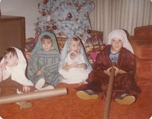 Mormon Nativity Scene