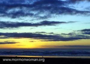 Mormon Woman: Sunset, Evidence of God