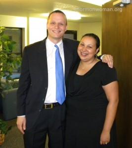 LDS woman Kristen