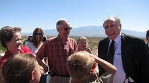 Mormon prophet sharing a laugh