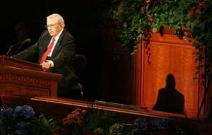 President Packer teaches truths about marriage, chastity, agency, atonement