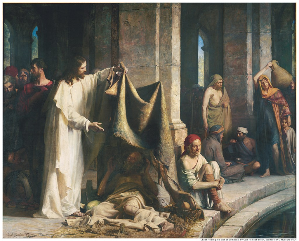 Jesus was the example of service and help