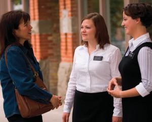 Mormon women missionaries