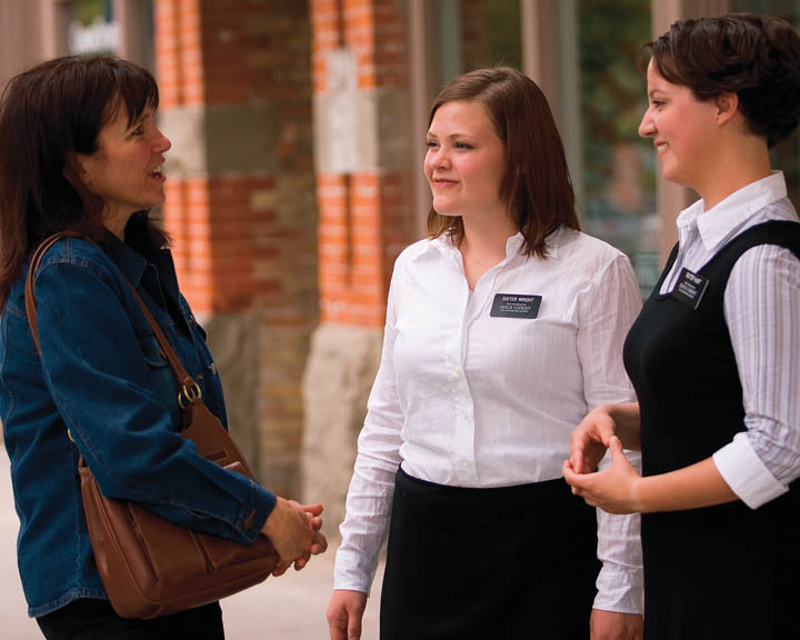 What would I learn from Latter-day Saint missionaries?
