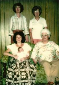Women of faith -- photo - five generations