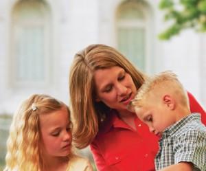 Mormons LDS believe in the importance of motherhood