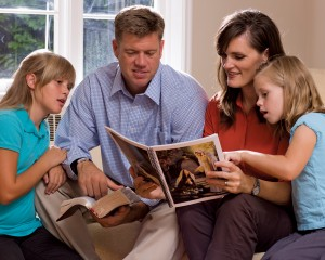 Weekly family time is part of Mormon life -- LDS Family Home Evening