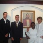 Mormon woman baptism