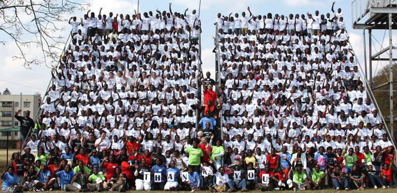 Mormon youth in Zimbabwe at youth conference