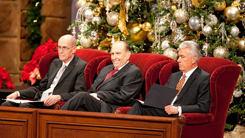 Mormon Christmas Devotional with First Presidency
