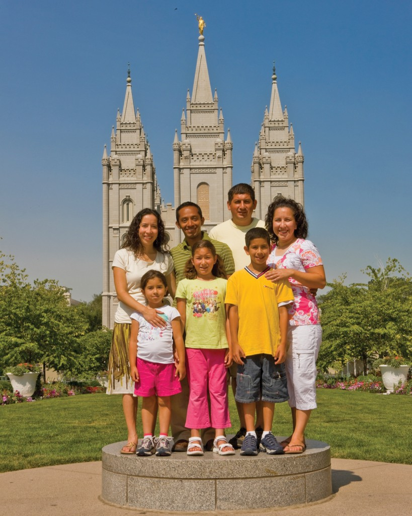 Family first is a Mormon teaching - families can be eternal