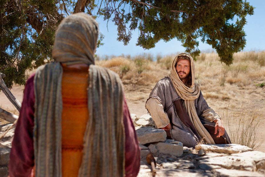 Jesus and the Samaritan Woman at the Well Living Water