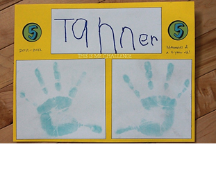 family histories scrapbooks children handprints