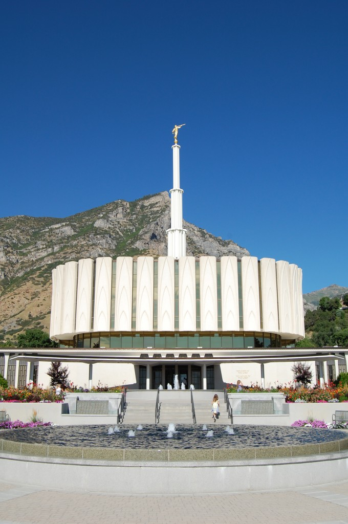 Mormon temples are for peace, pondering, worship