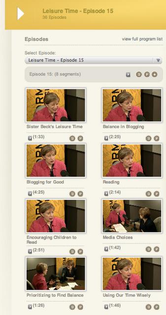 LDS Women leader Julie Beck interview Mormon Channel