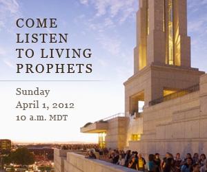 Mormons believe in living prophets, LDS general conference prophets speak