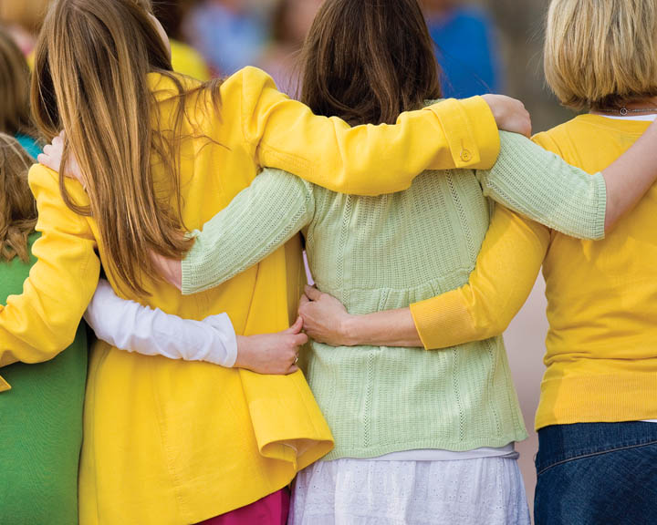 Relief Society is an organization for women to serve and strengthen each other