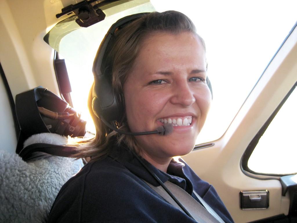 Mormon woman commercial pilot LDS women portrait