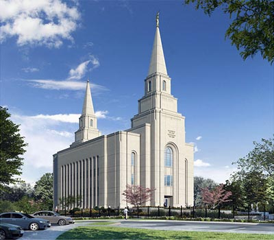 Kansas City Mormon temple temple dedication