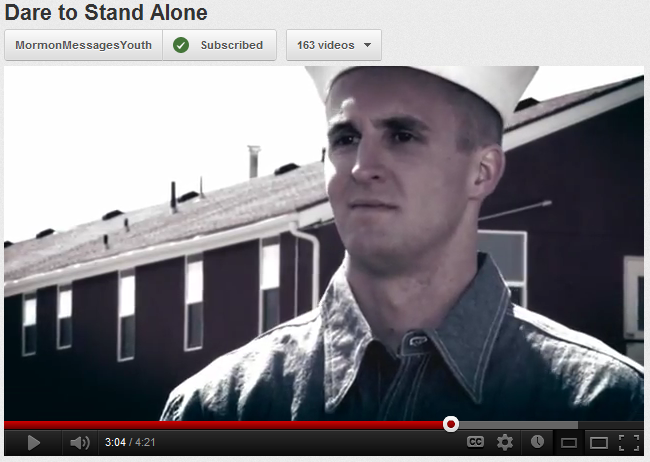 Dare to Stand Alone Mormon Messages video