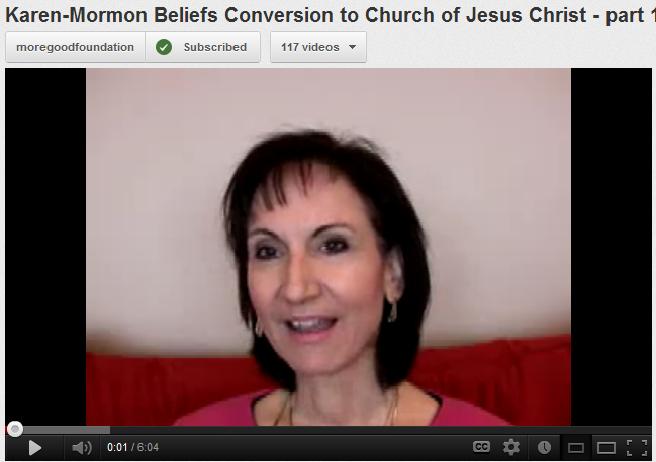 Karen Catholic to Mormon conversion story