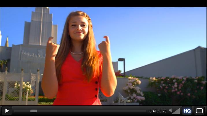 ASL LDS Mormon video lamb of god music