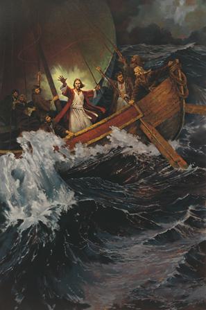 Jesus Calms the storm - fourth watch God
