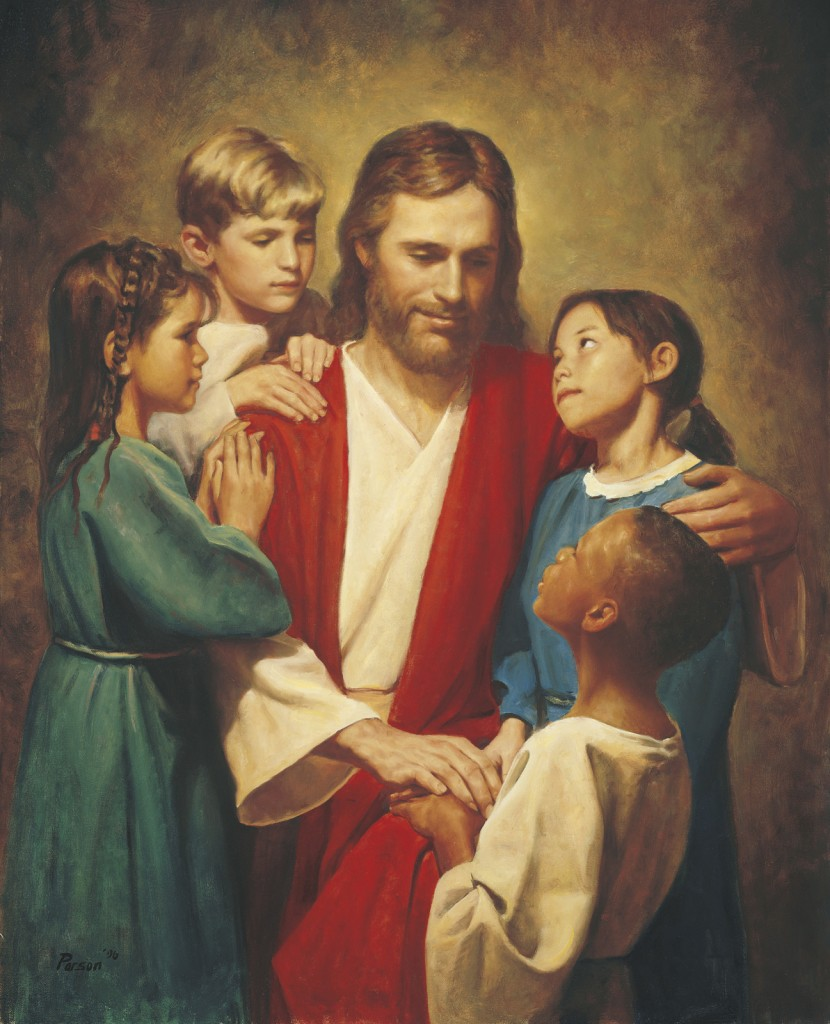 Jesus Christ loves children