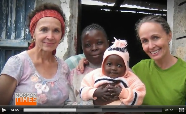 Relief Society saves a woman's life in Kenya