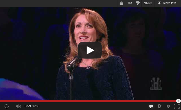 Jane Seymour and Mormon Tabernacle Choir Christmas music