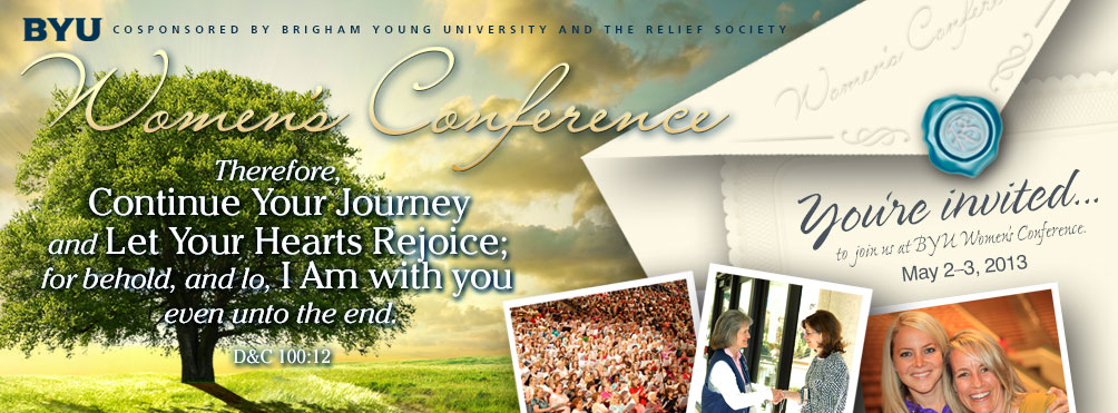BYU women's conference 2013