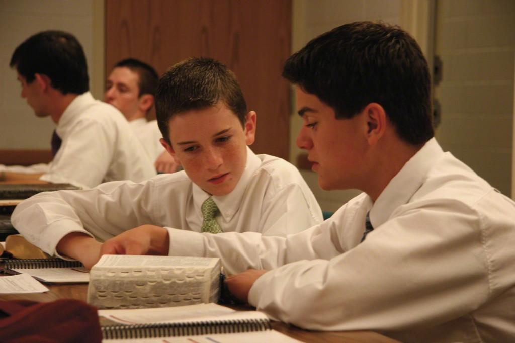 Mormon Aaronic priesthood holders