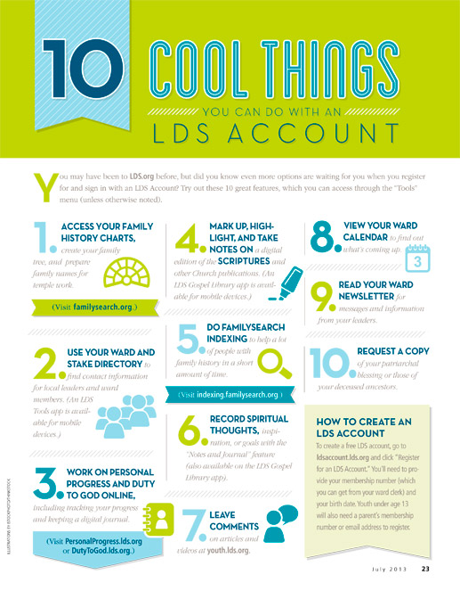 lds account infographic