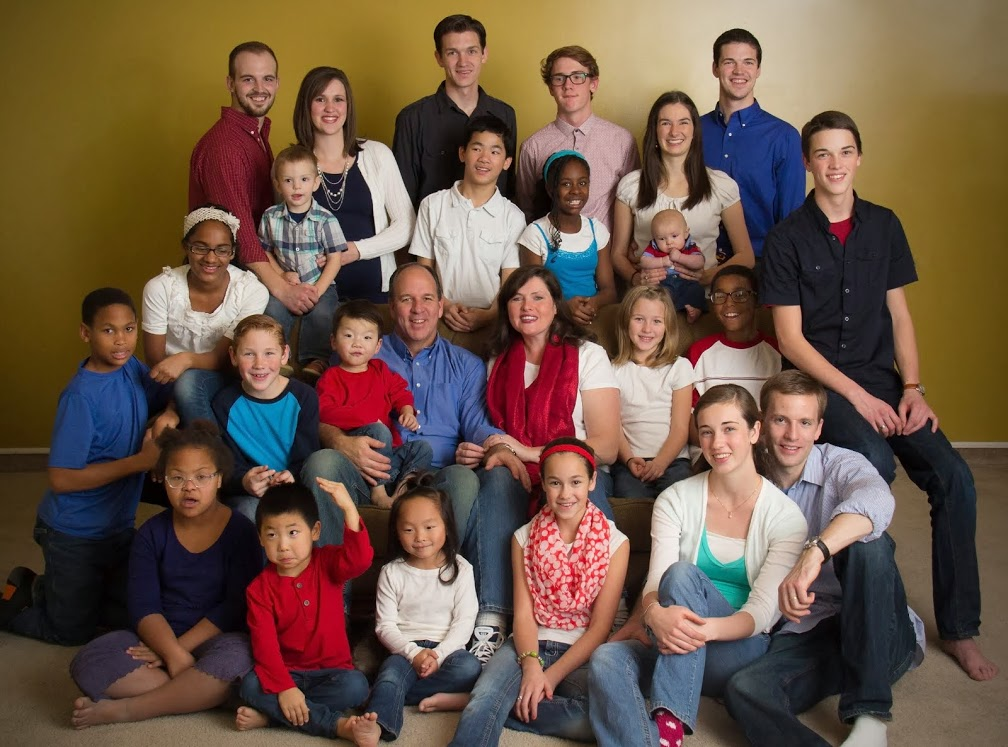 It's a Wonderful Life — a Mormon family and adoption blog