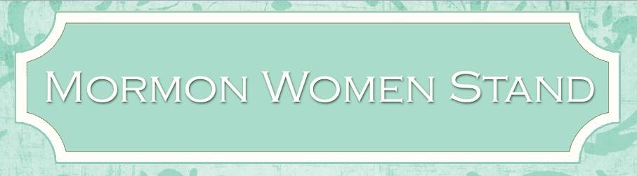 mormon women stand website