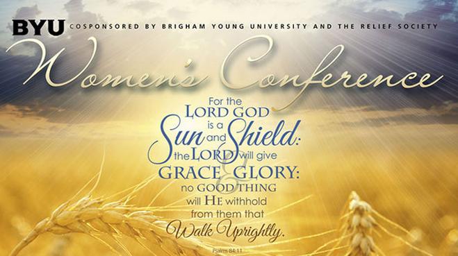 #byuwc 2014 BYU Women's Conference