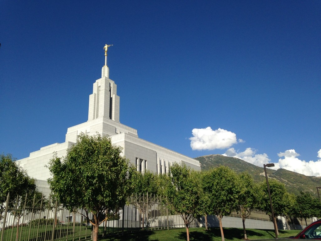 Ogden temple dedication