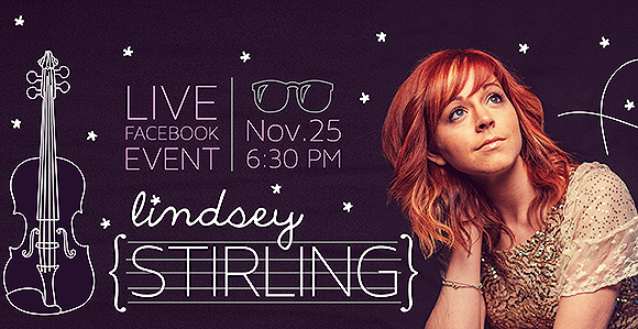 Lindsey Stirling virtual youth event